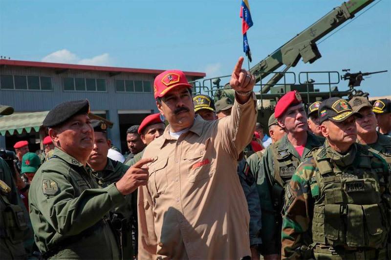 Venezuela,đảo chính,bất ổn Venezuela,Tổng thống tự xưng