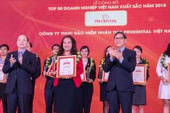 Prudential - DN bảo hiểm nhân thọ xuất sắc nhất Việt Nam