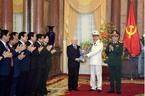 Bộ trưởng Công an Tô Lâm được phong quân hàm Đại tướng