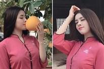 Sau lùm xùm bán dâm, Thư Dung nhiệt tình tung ảnh sexy kèm loạt status 'thả thính' mượn từ âm nhạc và thơ ca