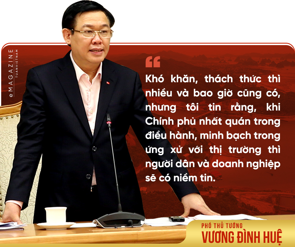 Phó Thủ tướng Vương Đình Huệ,động lực tăng trưởng,Chính phủ
