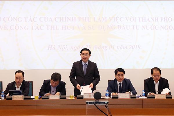 FDI,Phó Thủ tướng,Vương Đình Huệ,Hà Nội