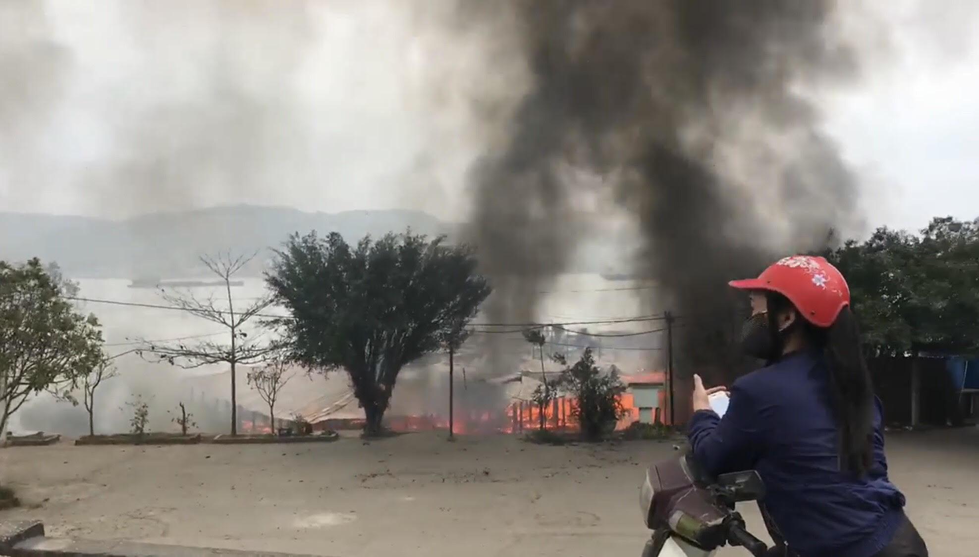 cháy nhà,ông Công ông Táo,Quảng Ninh