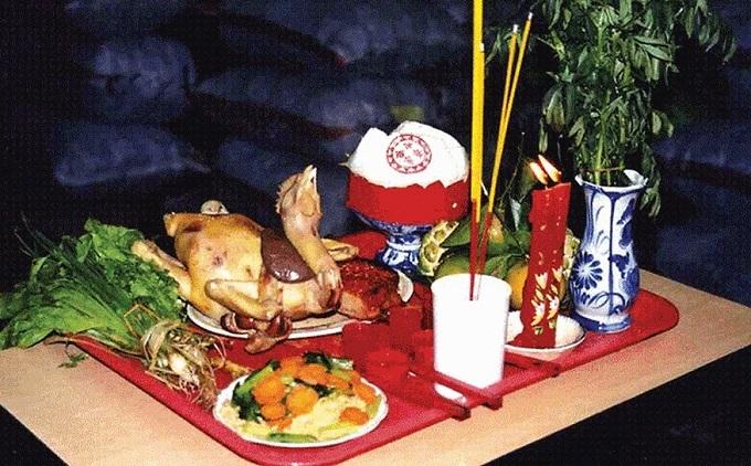 Nghi lễ cúng giao thừa đầy đủ, trang trọng theo GS Lương Ngọc Huỳnh
