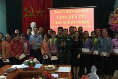 Báo VietNamNet trao quà Tết cho người nghèo ở Lạng Sơn
