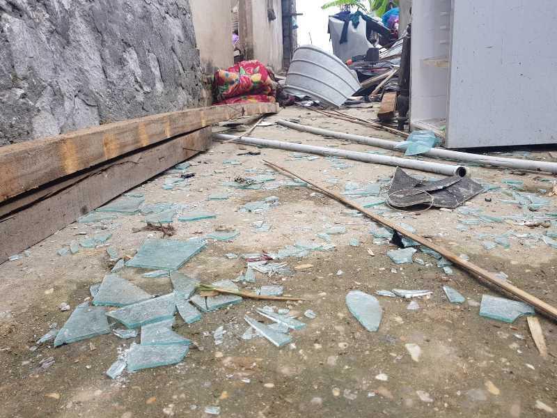 Hiện trường đổ nát sau vụ nổ thuốc pháo, 1 học sinh tử vong