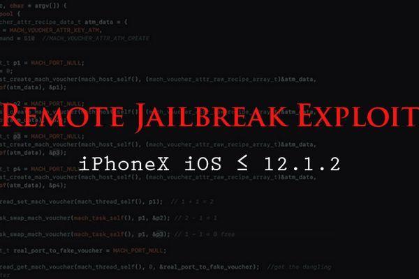 iOS 12 có thể bị jailbreak từ xa