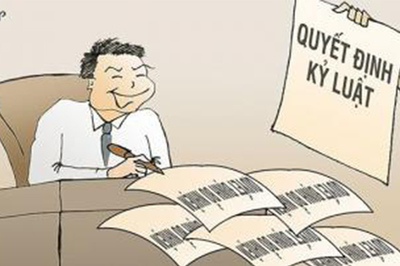 Giám đốc sở bị kỷ luật vì ưu ái em dâu hưởng lương sai quy định
