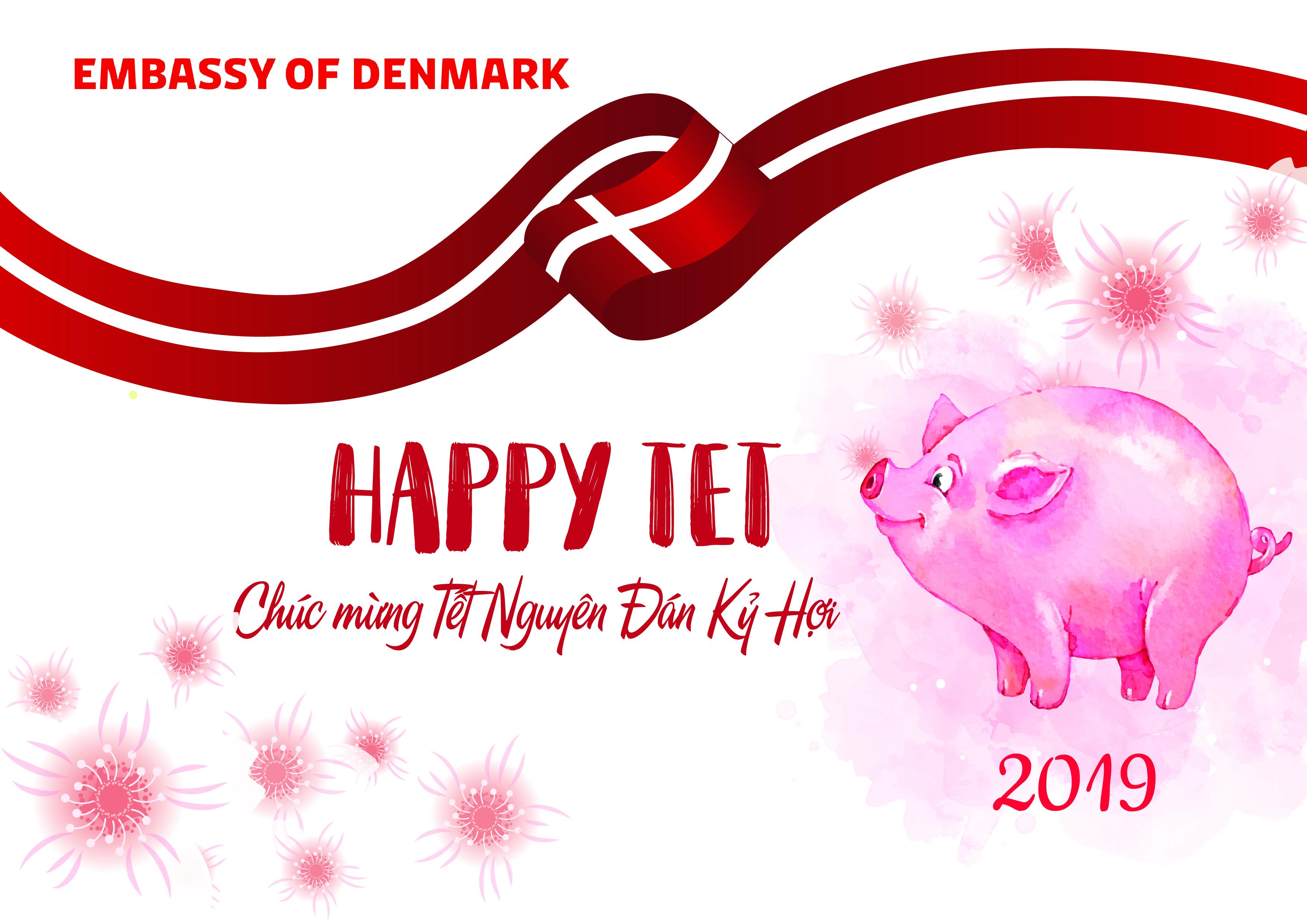 Lời chúc Tết nồng ấm của Đại sứ Đan Mạch bằng tiếng Việt