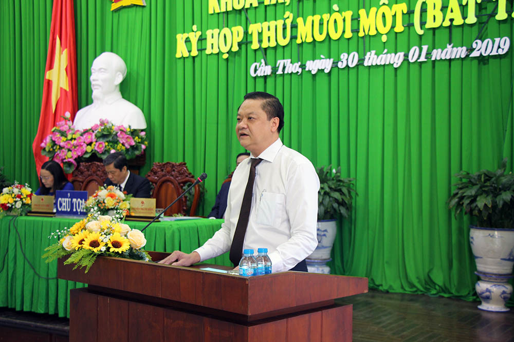Chủ tịch quận Ninh Kiều làm Phó chủ tịch UBND TP Cần Thơ