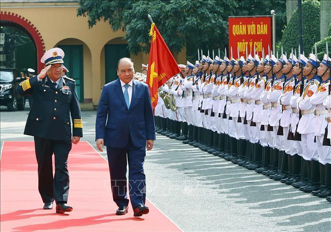 Thủ tướng Nguyễn Xuân Phúc,Nguyễn Xuân Phúc,Hải quân,Tết Kỷ Hợi