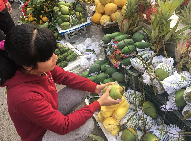 thị trường Tết,hoa quả Tết,tết nguyên đán,hoa quả