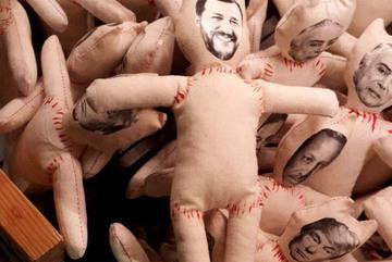 Dân mạng dậy sóng vì 'hình nhân thế mạng' của Phó thủ tướng Italia