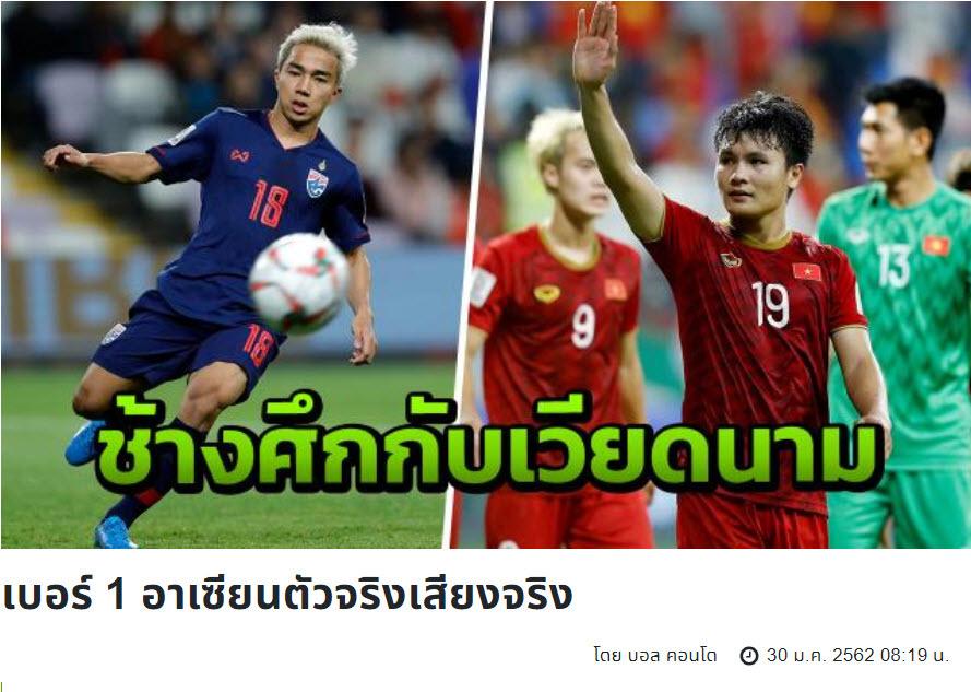 Người Thái cay cú: 'Việt Nam chưa phải số 1 Đông Nam Á'