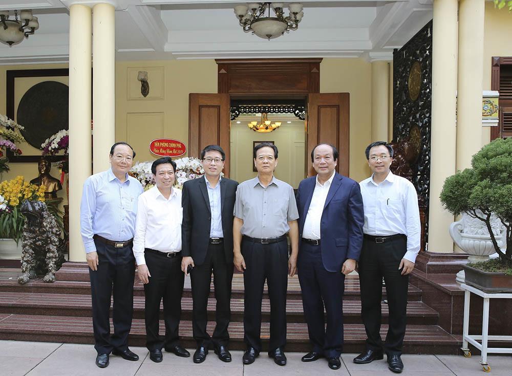 Bộ trưởng, Chủ nhiệm VPCP chúc Tết nguyên lãnh đạo Đảng, Nhà nước