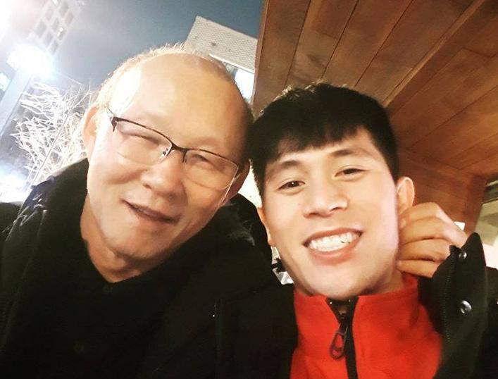 Trần Đình Trọng,HLV Park Hang Seo