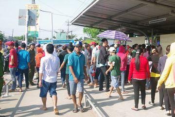 Hơn 10.000 công nhân ở Trà Vinh mất việc ngày cận Tết