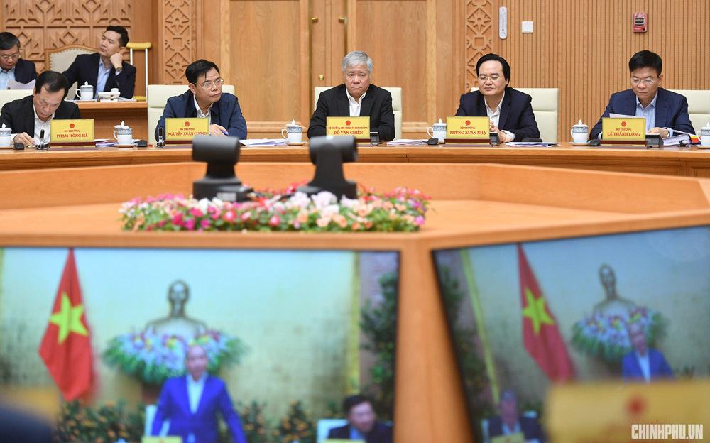 Hình ảnh phiên họp Chính phủ đầu tiên trong năm 2019