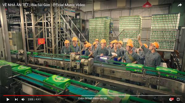 MV Tết khích lệ tinh thần hàng triệu người lao động