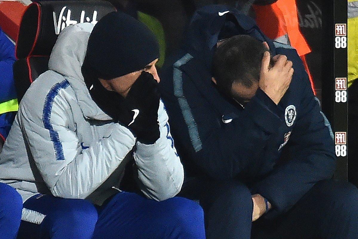 Chelsea thua ám ảnh: Báo động đỏ cho Sarri