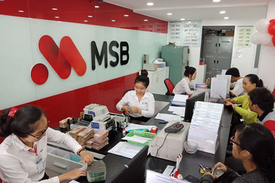 MSB miễn phí tin nhắn SMS tất toán sổ tiết kiệm