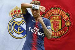 MU đấu Real vì Neymar, Juventus mua gấp James Rodriguez
