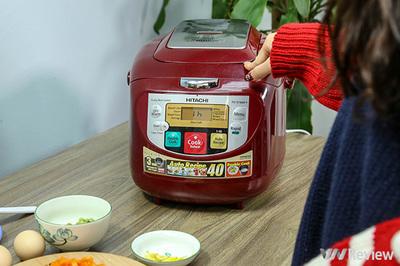 Tết siêu nhàn với nồi cơm điện đa năng Hitachi Double Cook