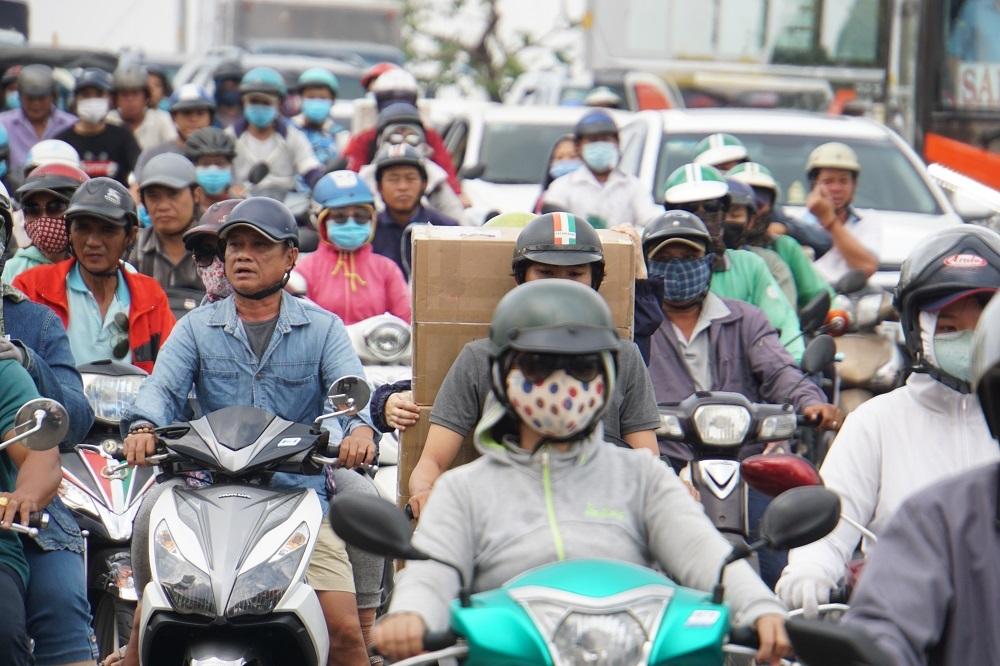 Tết Kỷ Hợi 2019,Sài Gòn,ùn tắc giao thông,kẹt xe