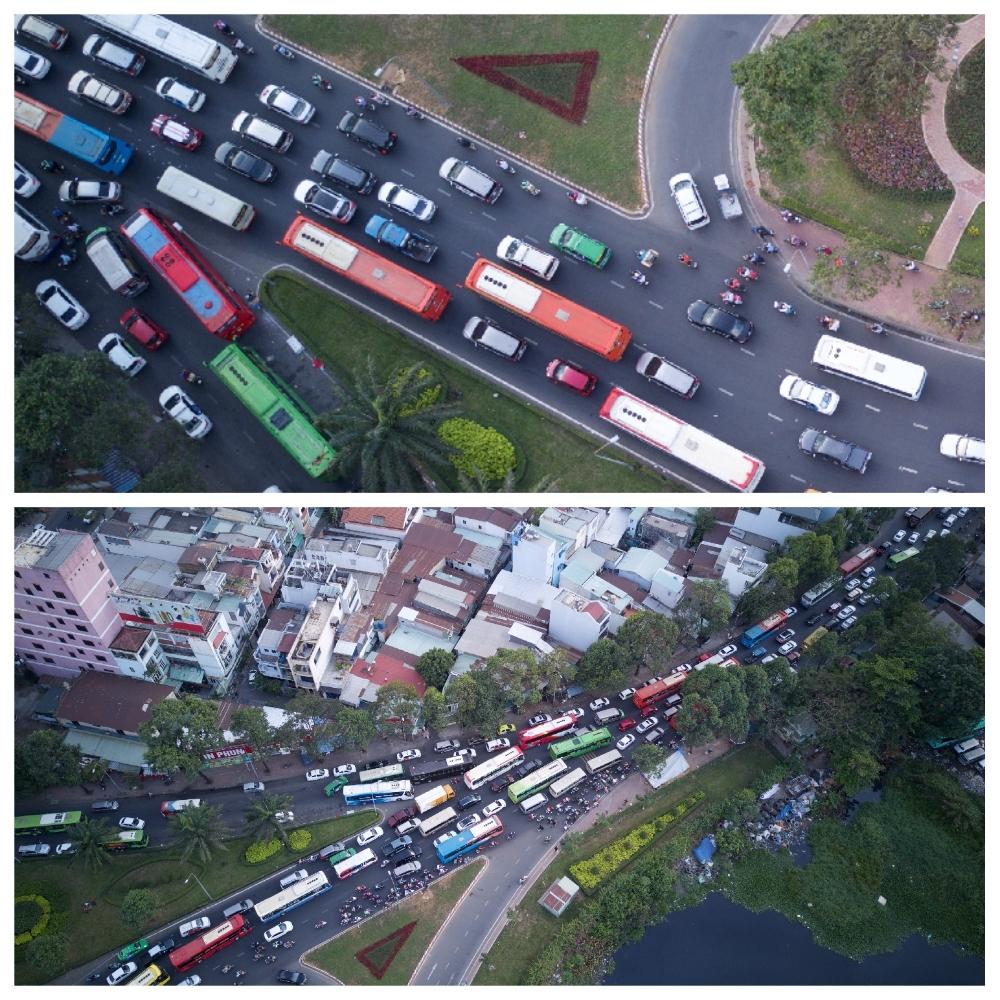 Bến xe lớn nhất Sài Gòn 'nghẹt thở' vào cao điểm Tết