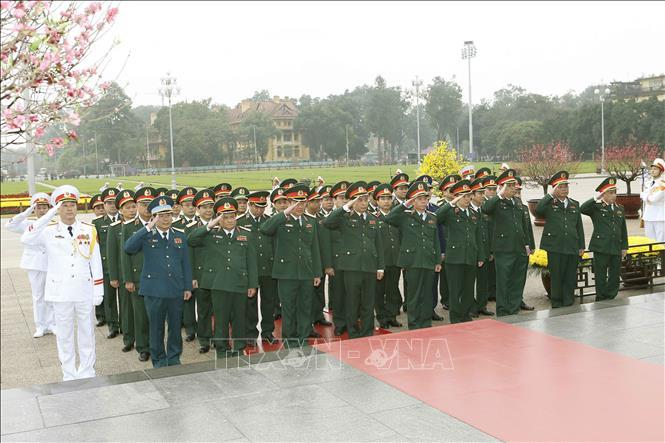 Lãnh đạo Đảng, Nhà nước viếng Lăng Chủ tịch Hồ Chí Minh