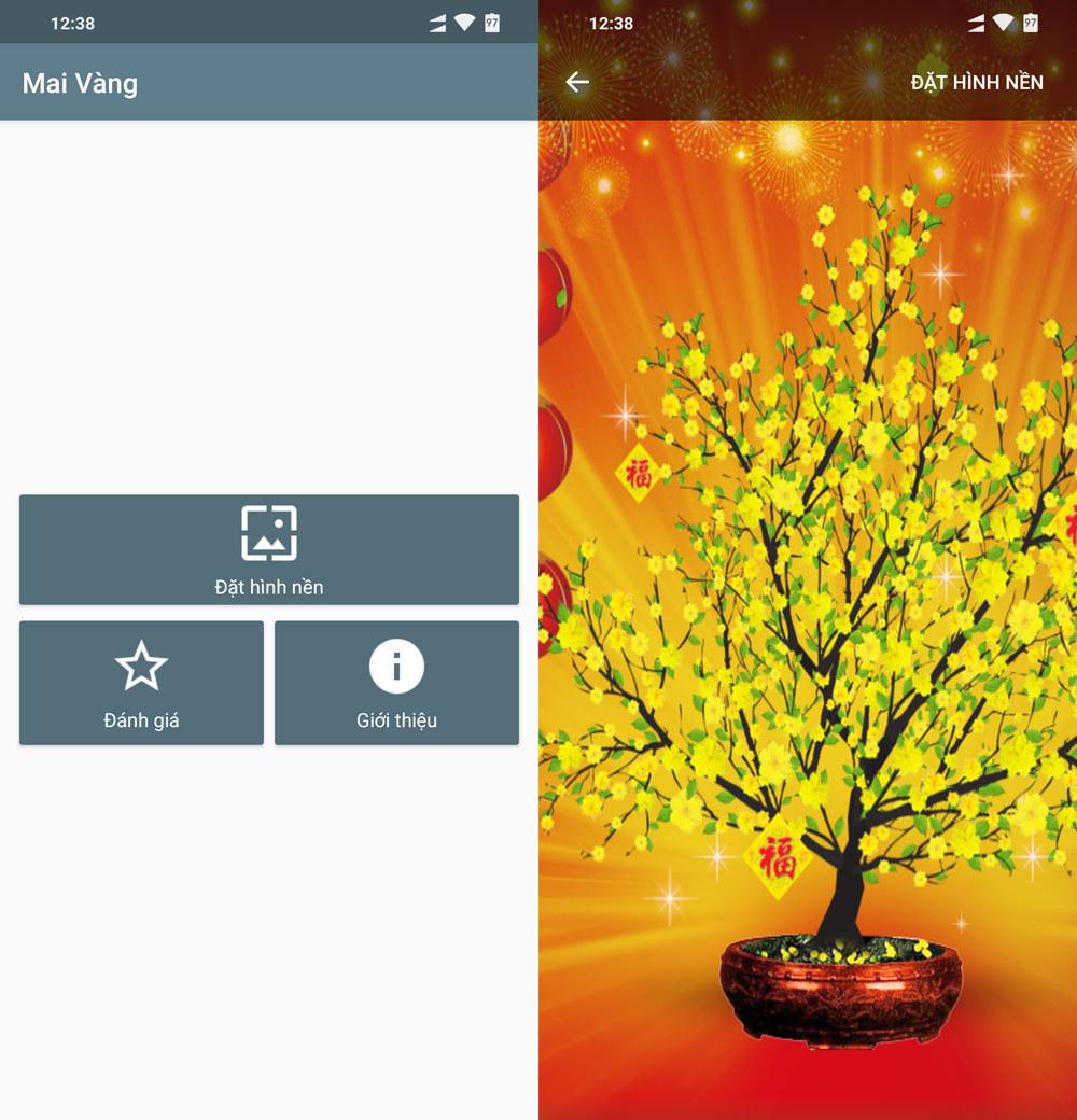 Tải theme và hình động ngày Tết cho smartphone