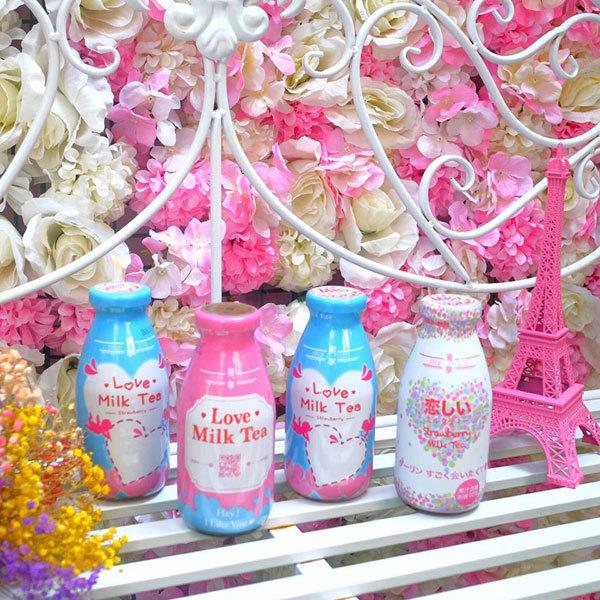 Trà sữa đóng chai Love Milk Tea ra mắt hương vị mới