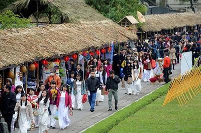 Tổ chức 'Festival Văn hóa Việt 2019' tại Hoàng thành Thăng Long