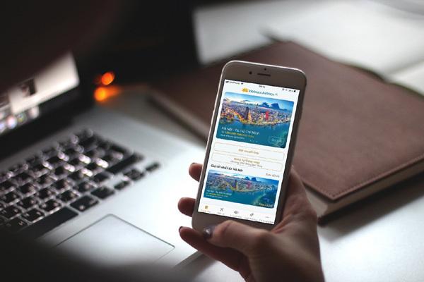 Vietnam Airlines sẽ trình làng ứng dụng mới dịp Tết Nguyên đán