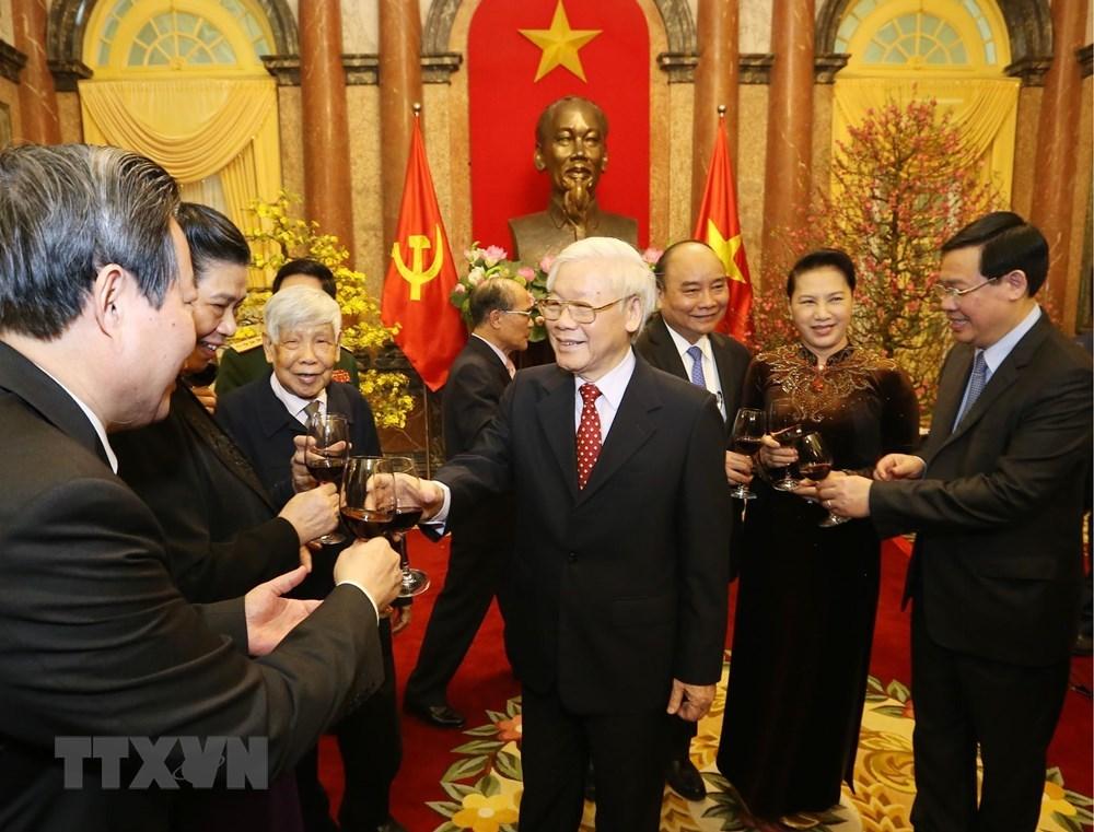 Tổng bí thư,Chủ tịch nước,Nguyễn Phú Trọng,Tết Nguyên đán 2019