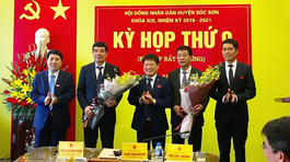Hà Nội: Miễn nhiệm Chủ tịch huyện Sóc Sơn và bầu lãnh đạo mới