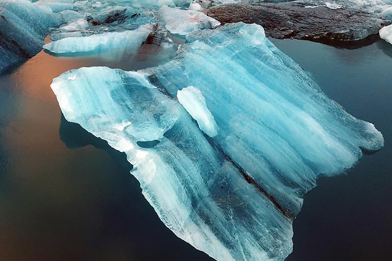 Sông băng,đảo quốc Iceland