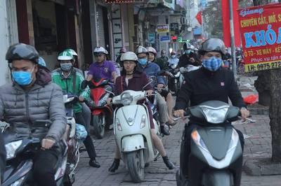 Đài Loan 15 triệu xe máy không tắc, Indonesia cấm rồi bỏ: Hà Nội tính sao?