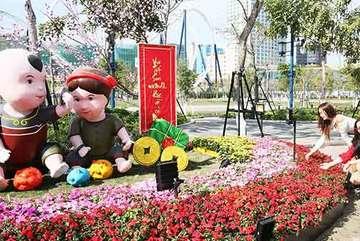 Hấp dẫn Lễ hội hoa xuân ở Sun World Halong Complex