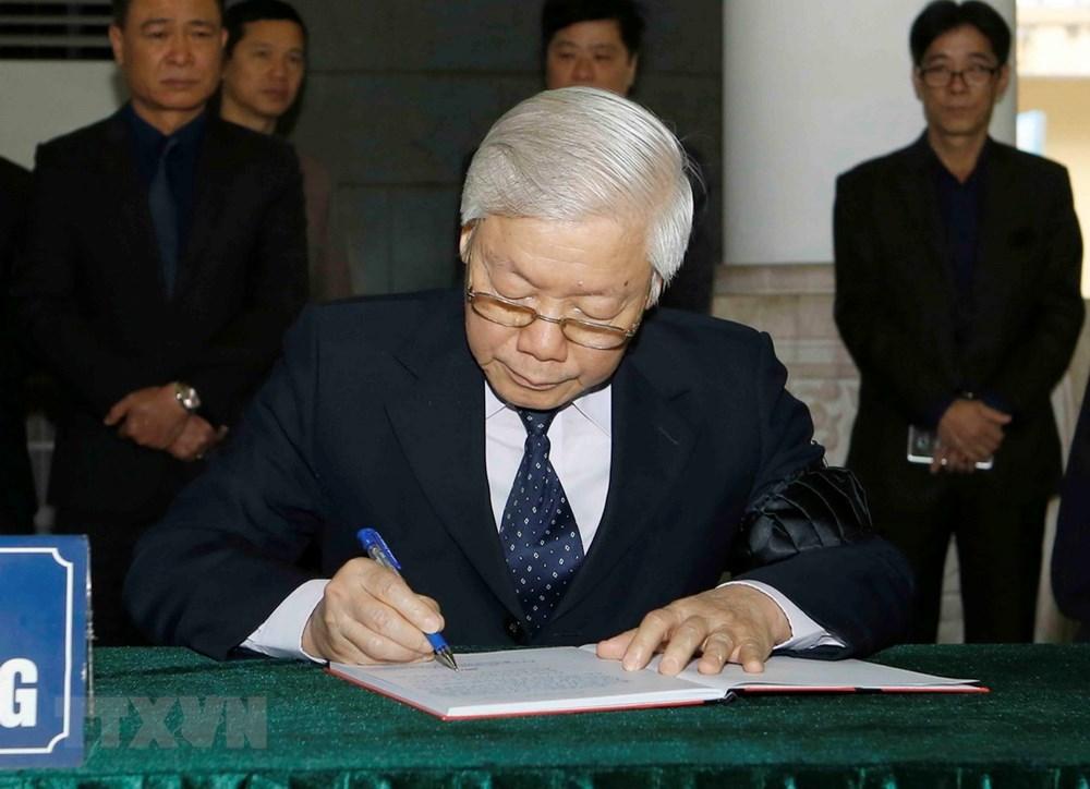 Nguyễn Đức Bình,Nguyễn Phú Trọng,Tổng bí thư,Chủ tịch nước Nguyễn Phú Trọng