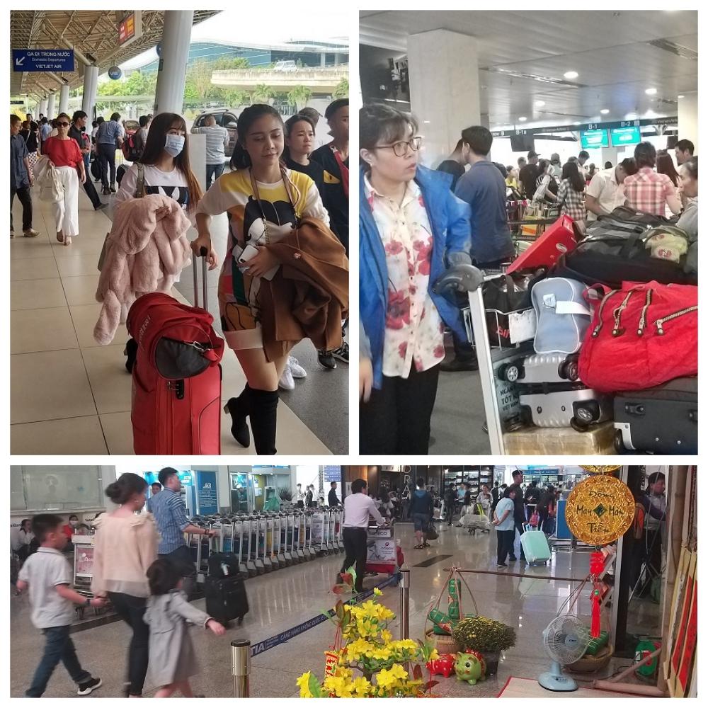 Sân bay Tân Sơn Nhất 'nêm cứng' người, lập kỉ lục 900 chuyến bay/ngày