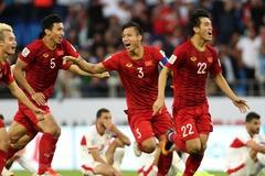 Bảng xếp hạng FIFA tháng 1/2019: Việt Nam tiếp tục thăng tiến