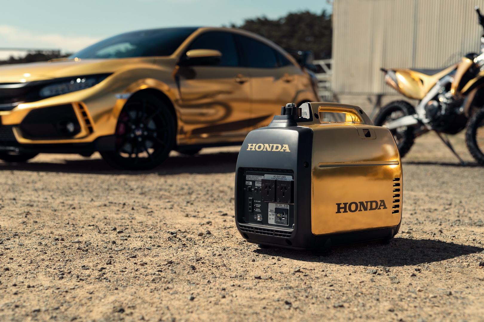 Honda ra mắt những chiếc xe mạ vàng cực độc