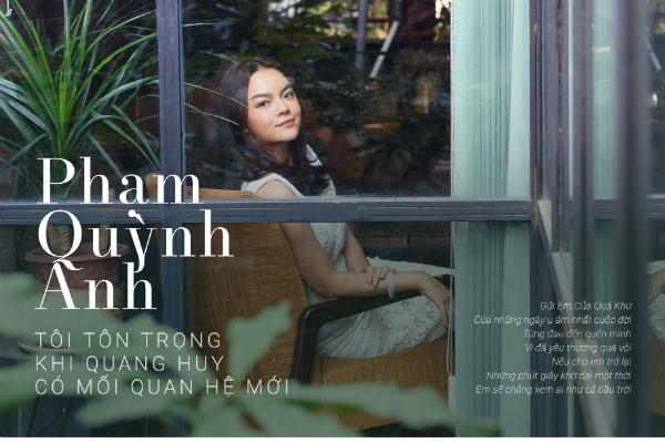 Phạm Quỳnh Anh: Rất buồn khi phát hiện Quang Huy có người phụ nữ khác