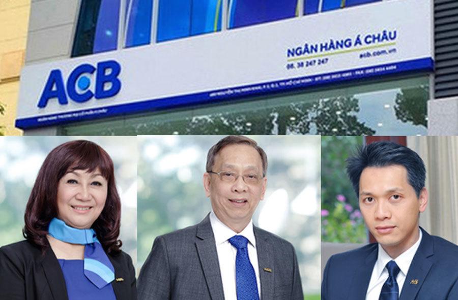 ACB,Trần Mộng Hùng,Trần Hùng Huy