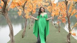 """Á hậu Miss U30 Trang Viên: Từ """"Đêm mặn"""" sáng ngời chữ """"Tâm"""""""