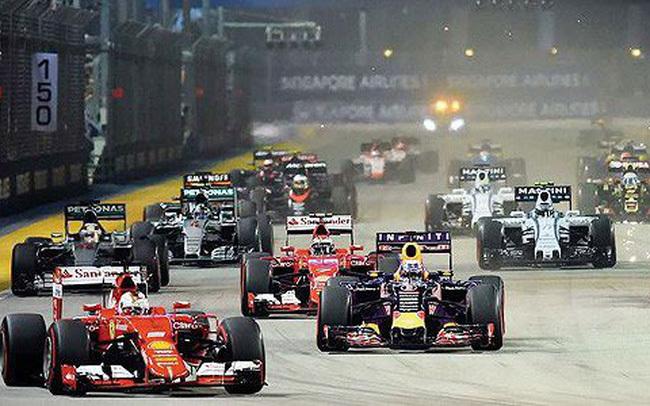 đua xe f1,đua xe