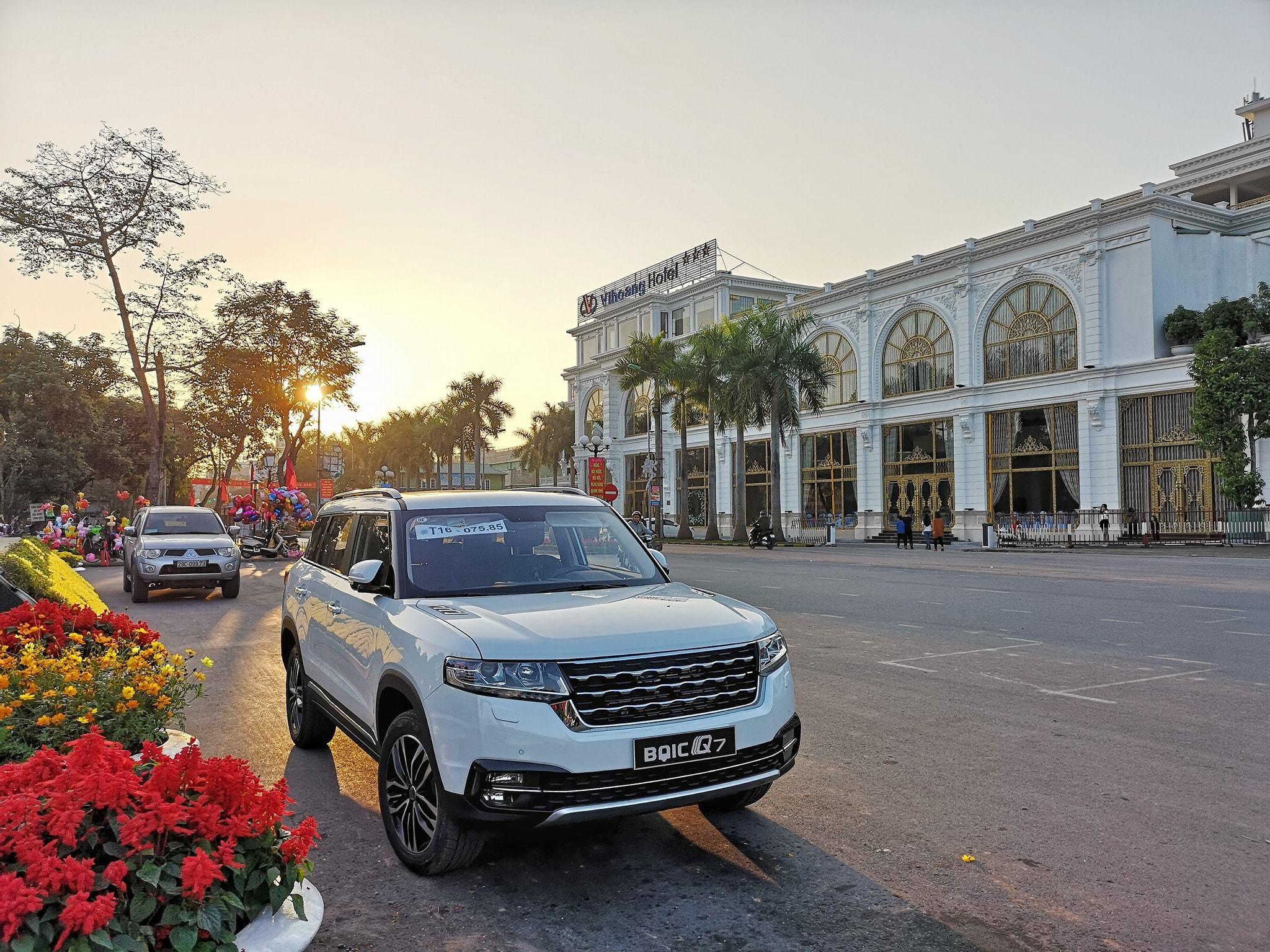BAIC,Zotye,ô tô Trung Quốc,đăng kiểm xe