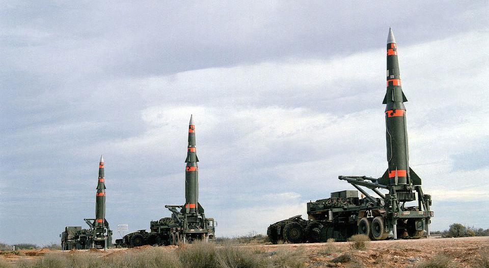 hiệp ước INF,tên lửa đạn đạo,vũ khí