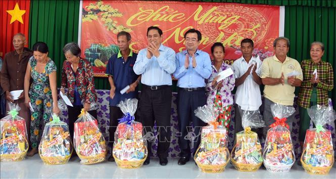 Trưởng Ban Tổ chức Trung ương,Phạm Minh Chính,Tết Nguyên đán,Tết Kỷ Hợi 2019,Kiên Giang